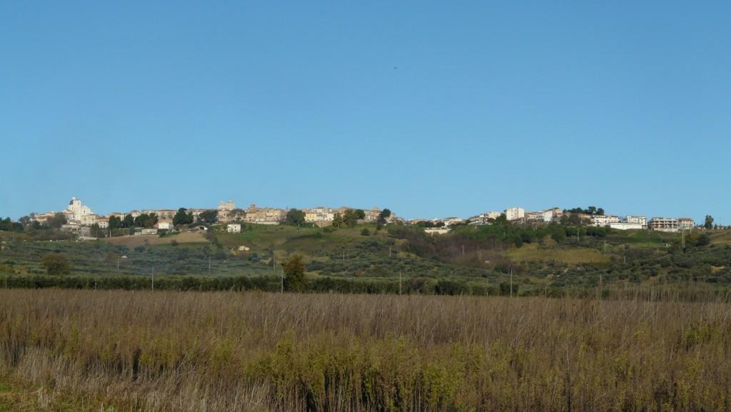 Vista panoramica centro abitato