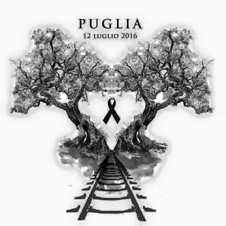 lutto Puglia 12 luglio 2016